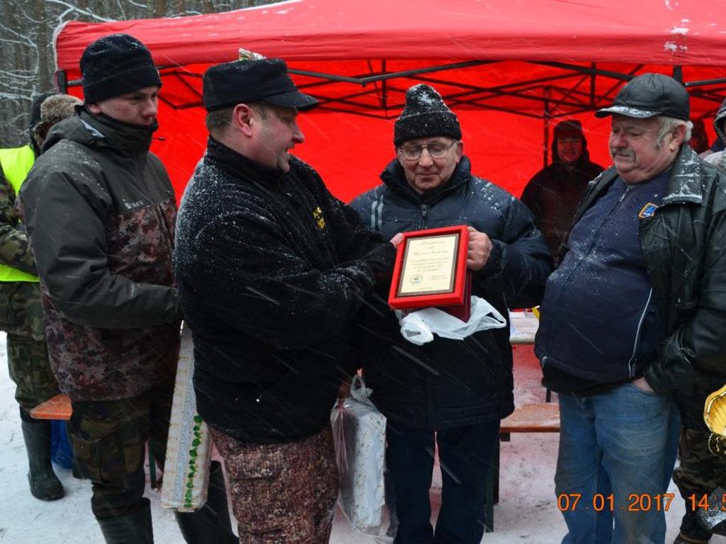 Zawody spinningowo / muchowe 7 stycznia 2017 r.
